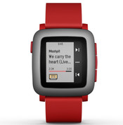 Pebble Time (Red)