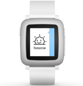 Pebble Time (White)