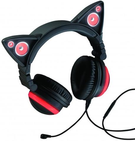 Brookstone Cat Ear Headphones (Red)