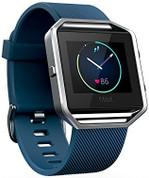 Fitbit Blaze (Blue Silver Large)