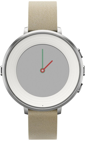 Pebble Time Round (Silver)