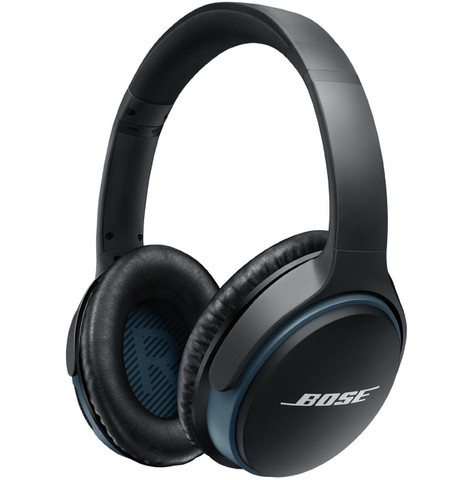Bose SoundLink Around-Ear Wireless Headphones II (Black)