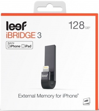 Leef iBridge 3 Mobile Memory for iOS (128GB)