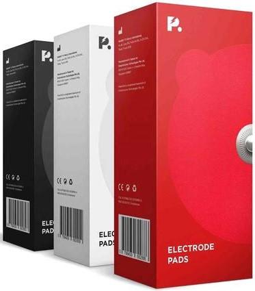 PowerDot Replacement Electrode Pads (Black)
