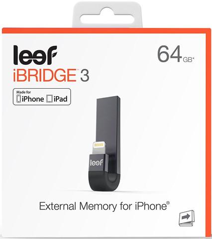 Leef iBridge 3 Mobile Memory for iOS (64GB)