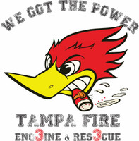Tampa Fire Rescue Station 3 Off Duty Shirt