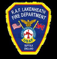 RAF Lakenheath Fire Protection Unoffical Shirt