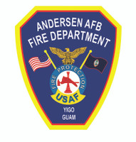 Andersen Air Force Base Fire Protection unoffical Shirt