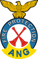 Air National Guard Fire Protection Station Chief Shirt