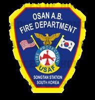Osan Air Base Fire Protection Unoffical Shirt