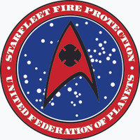 Starfleet Fire Protection Decal