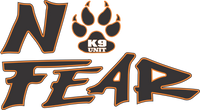No Fear K-9 Decal
