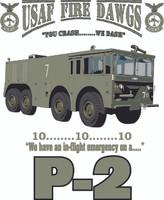 USAF P-2 Shirt ( OD Green)