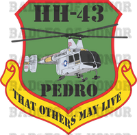 HH-43 HUSKIE PEDRO DECAL