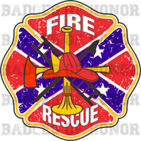 Southern Fire Department Decal