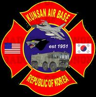 Kunsan AB Fire Department Shirt