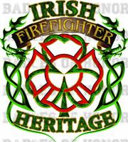 Irish Firefighter Heritage Shirt