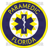 Florida State Paramedic Shirt