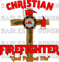 Christian Firefighter Shirt