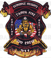 Tampa Fire Rescue Station 7 Shirt v2