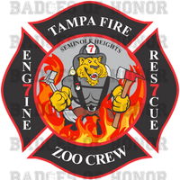 Tampa Fire Rescue Station 7 decal