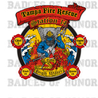 Tampa Fire Rescue Station 14 decal