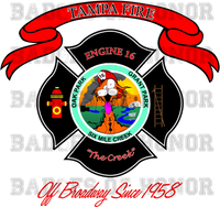 Tampa Fire Rescue Station 16 decal