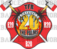 Tampa Fire Rescue Station 20 decal