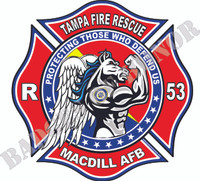 Tampa Fire Rescue-Rescue 53 Shirt