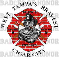Tampa Fire Rescue Station 9 Shirt