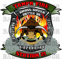 Tampa Fire Rescue Station 21 Shirt