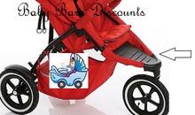 Phil & Teds - Dash - Plastic Footrest