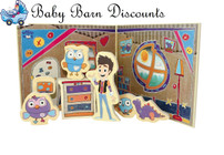 DISCOVEROO - Giggle & Hoot Wooden Play Set