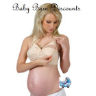 New Beginnings - Nude Breastfeeding Bra with Back Support - Small Drop Cup Bra