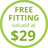 Free Fitting valued at $29