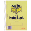 Spirax #571 Notebook A5 300 Page 210 x 148mm Pack 5