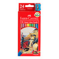 Faber-Castell Classic Colour Pencils Pk/24