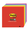 3M 654-5SSAN Post-it Super Sticky Neon Notes 76 x 76mm Pk/5