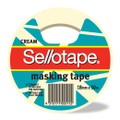 Sellotape Masking Tape 18mm x 50m