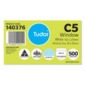 Tudor C5 Window Moistseal White Secretive 162x229mm Box 500 140376