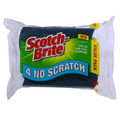 Scotch-Brite No Scratch Scrub Sponge S Wave 4/PK