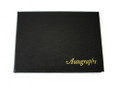 Autograph Book 105x145mm AU50 Black Leathergrain Cover