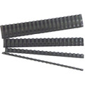 GBC Ibico Binding Comb 21 Loop Plastic 6mm Black Pk/100
