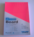 Fluroboard Pink 250Gsm A4 Pk50