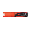 Uni Wet Erase Liquid Chalk Marker PWE-8K Fluro Orange