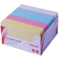 Esselte System Cards (5x3) 76x127 Assorted Colour 500/PK