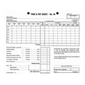 Zions Time & Pay Sheets No.44 Pk/100