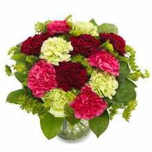 Carnations bouquet Sweden.