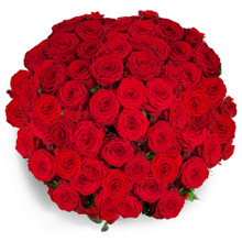 deluxe red roses bouquet for love occasion for shipping in Sweden.