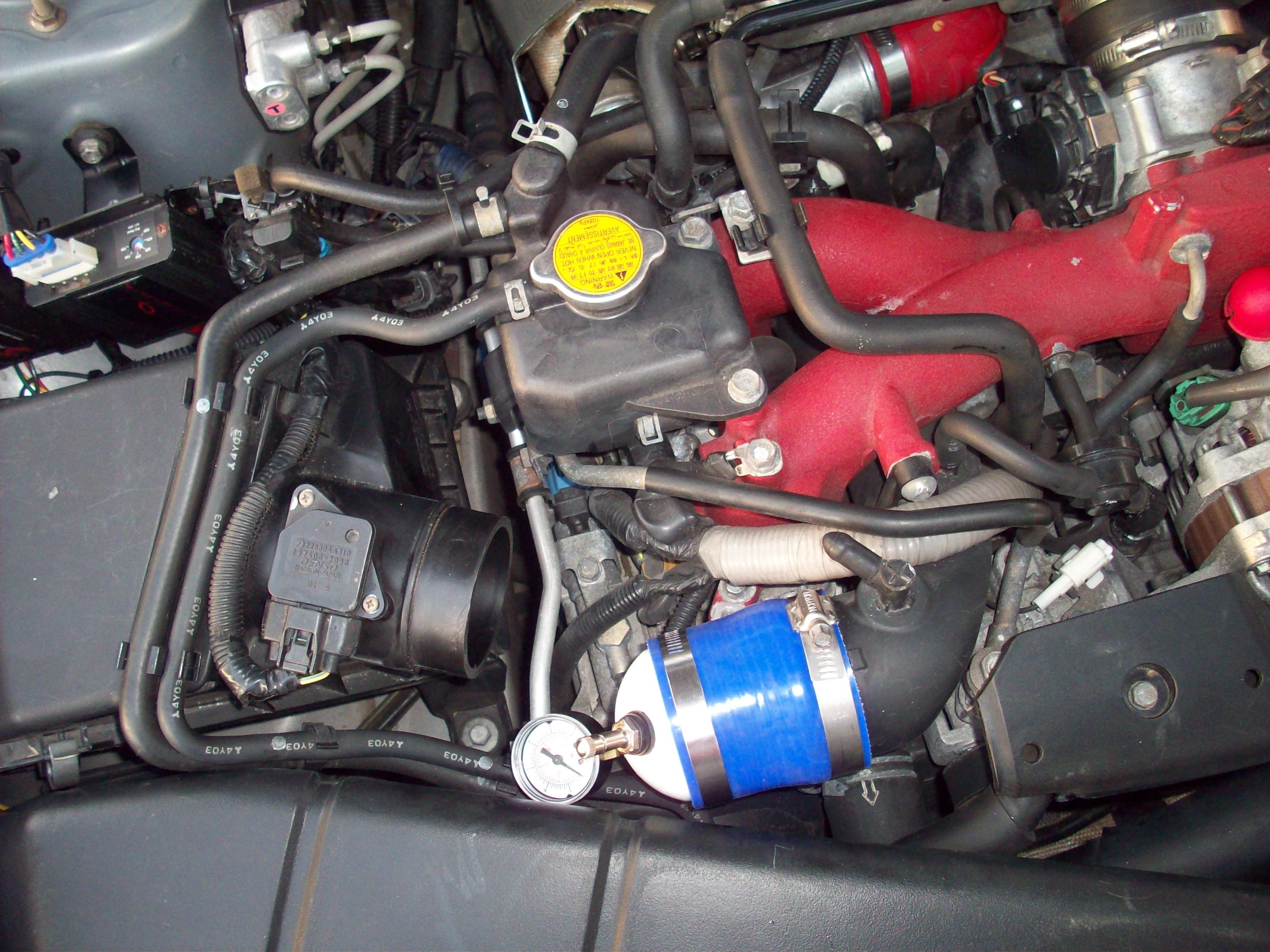 Subaru Boost Leak Test WRX STI FORRESTER EJ